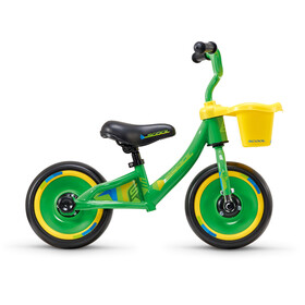 "s'cool pedeX 3in1 Kids Push Bikes Children 10"" yellow/green"